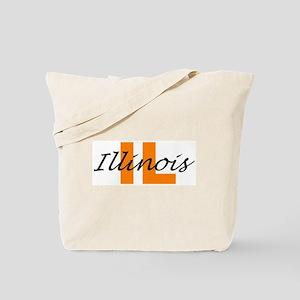 ILLINOIS- IL Tote Bag