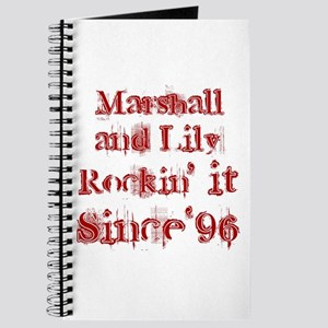 Marshall and Lily Rockin it S Journal