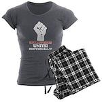 Introverts Unite (Dark) Women's Charcoal Pajamas