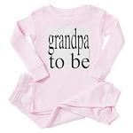 108b. grandpa to be [ bw] Baby Pajamas