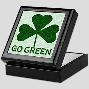 Go Green Keepsake Box