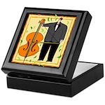 Funny Cellist Keepsake Box