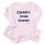 Daddy's Little Boater Baby Pajamas
