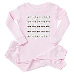 Weiner Dog Baby Pajamas