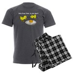 Holy Crap! Pete, is that you? Men's Charcoal Pajam