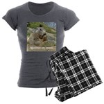 Marmot women's dark pyjamas