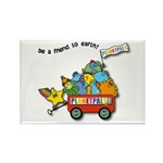 Planetpals Earthday Everyday Rectangle Magnet (100