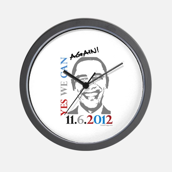 Yes We Can Again! Wall Clock