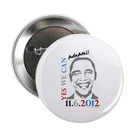 """Yes We Can Again! 2.25"""" Button (10 pack)"""