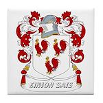 Einion Sais Coat of Arms Tile Coaster