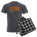 Flying Aces Club Men's Charcoal Pajamas