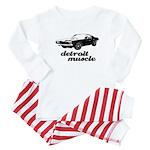 Detroit Muscle Baby Pajamas