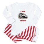 Little Stinker (Baby Skunk) Baby Pajamas