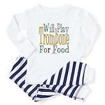 Will Play Trombone Baby Pajamas