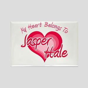 Heart Jasper Hale Rectangle Magnet