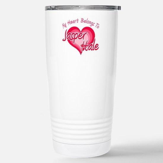 Heart Jasper Hale Stainless Steel Travel Mug