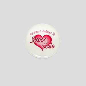 Heart Jasper Hale Mini Button