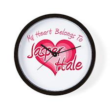 Heart Jasper Hale Wall Clock
