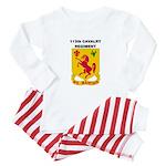 113TH CAVALRY REGIMENT Baby Pajamas