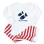 Pisces in Training (Baby Pajamas)