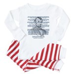 Gettysburg Address Baby Pajamas