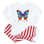 Xtreme Butterfly Baby Pajamas