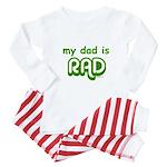raddad copy Baby Pajamas