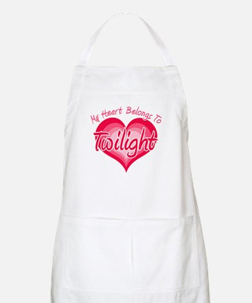 Heart Belongs Twilight BBQ Apron