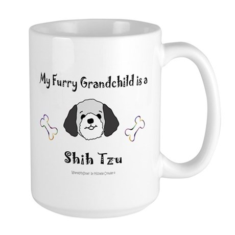 shih tzu gifts Large Mug