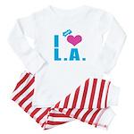 I Love (Heart) L.A. Baby Pajamas