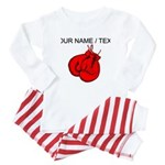 Custom Boxing Gloves Baby Pajamas