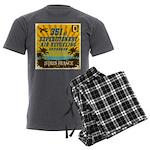 351st EARS Men's Charcoal Pajamas