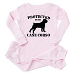 Protected by my Cane Corso Baby Pajamas