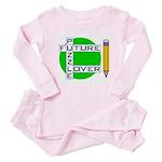 Future Puzzle Lover Baby Pajamas