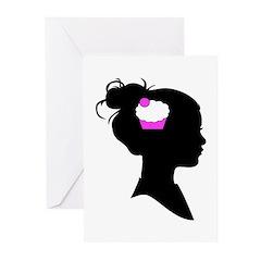 Cupcake Brain Greeting Cards (Pk of 20)