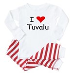 Infant Tuvalu Baby Pajamas