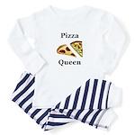 Pizza Queen Baby Pajamas