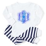 Star of David Commandments Baby Pajamas