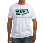 No Place Like Home Fitted T-Shirt