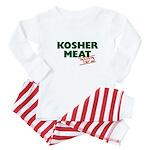 Jewish - Kosher Meat! - Baby Pajamas