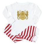 Navy Diving Officer Baby Pajamas