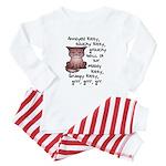 Grouchy Kitty Baby Pajamas