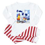 Catamarans Baby Pajamas