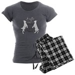 Funny Goat - Suffer from MGS Women's Charcoal Paja
