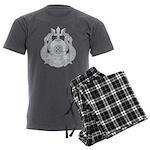 Master Diver Men's Charcoal Pajamas