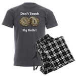 Don't Touch My Balls! Men's Charcoal Pajamas