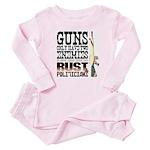 GUNS Baby Pajamas