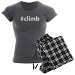 #climb Women's Charcoal Pajamas