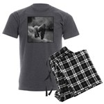 Silverback Gorilla Men's Charcoal Pajamas