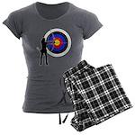 Archery2 Women's Charcoal Pajamas